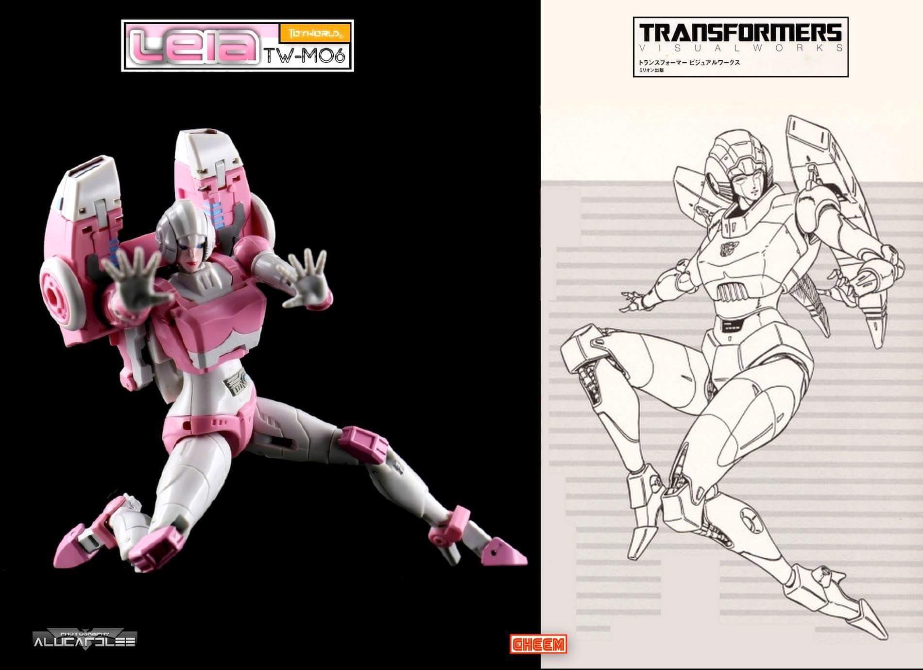 [Toyworld][Zeta Toys] Produit Tiers - Jouet TW-M06 Leia / Zeta-EX05 ArC aka Arcee/Arcie 4aN4bH5V
