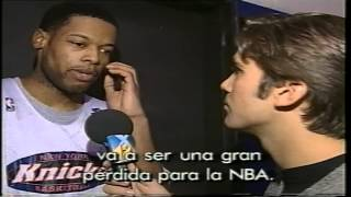 NBA players talks about Jordan`s retirement - Ignacio Kliche informe retiro de Jordan