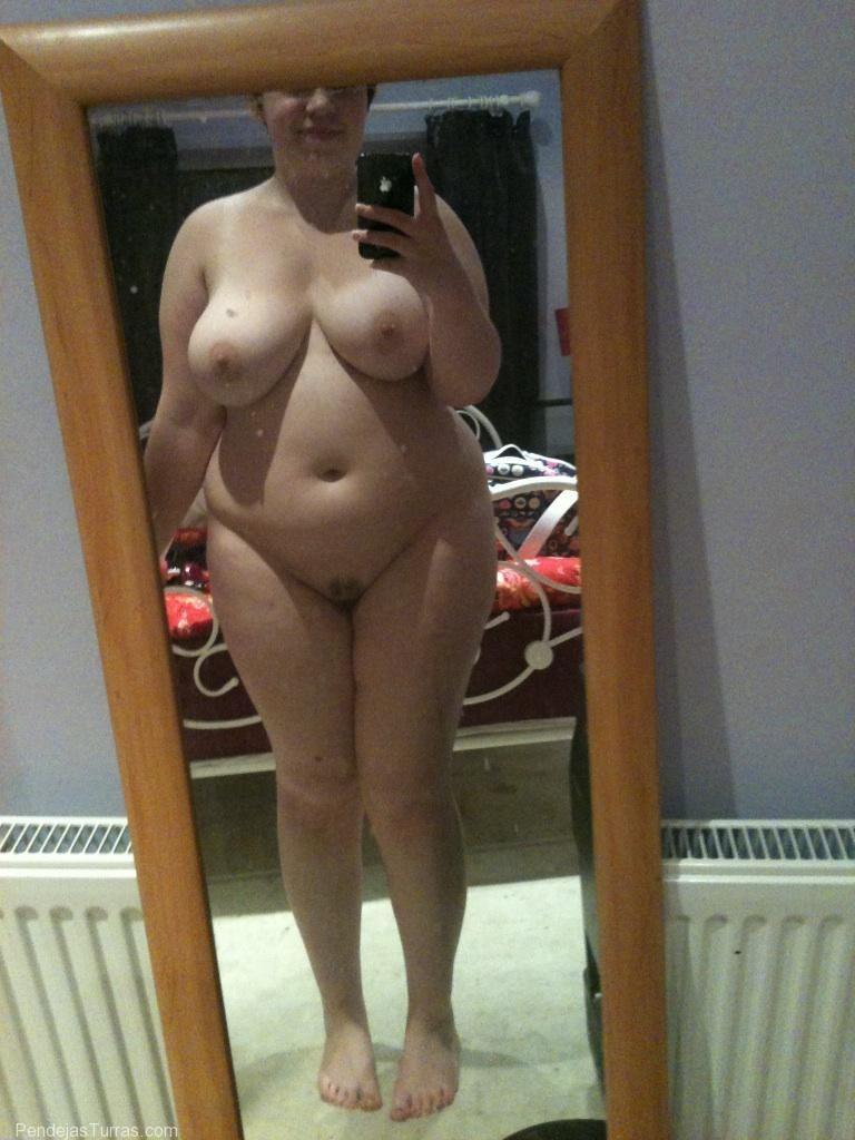 Desnudo chica gordita aficionado vid