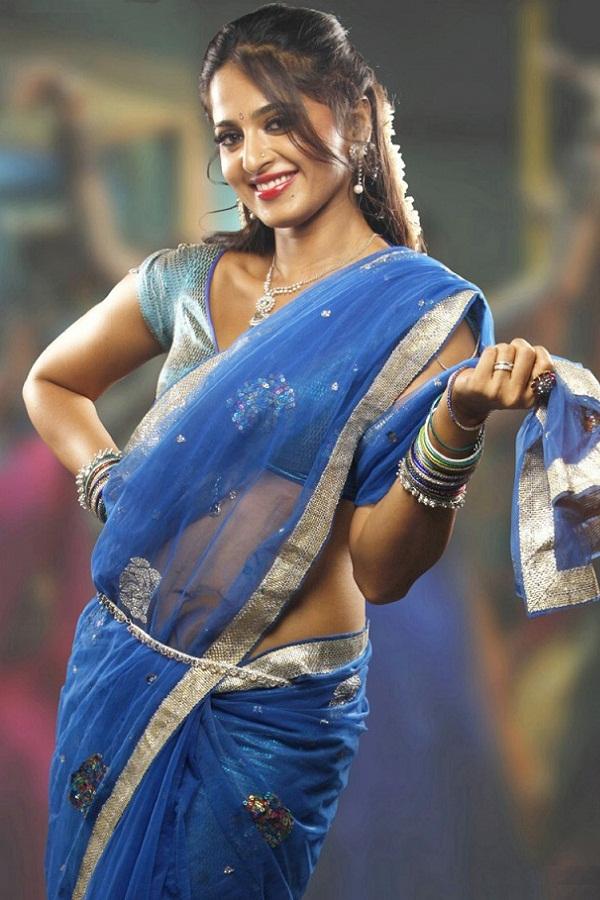 Anushka Shetty Hot in Saree#3 7 images AdbdyGjy