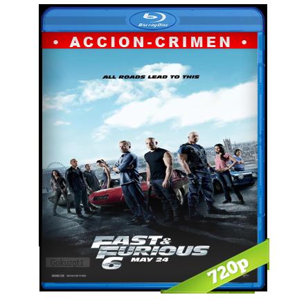 descargar Rapido Y Furioso 6 720p Lat-Cast-Ing 5.1 (2013) gratis