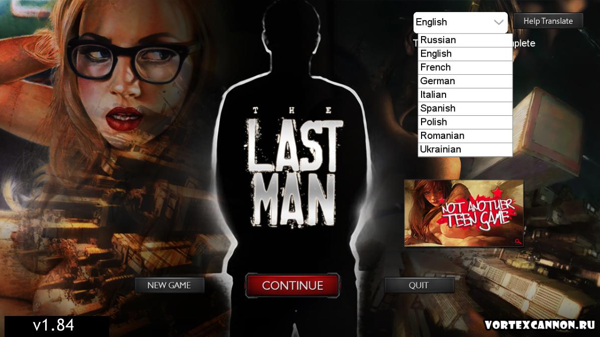 Last Man - Vortex Cannon Entertainment - Version 1.84 Update