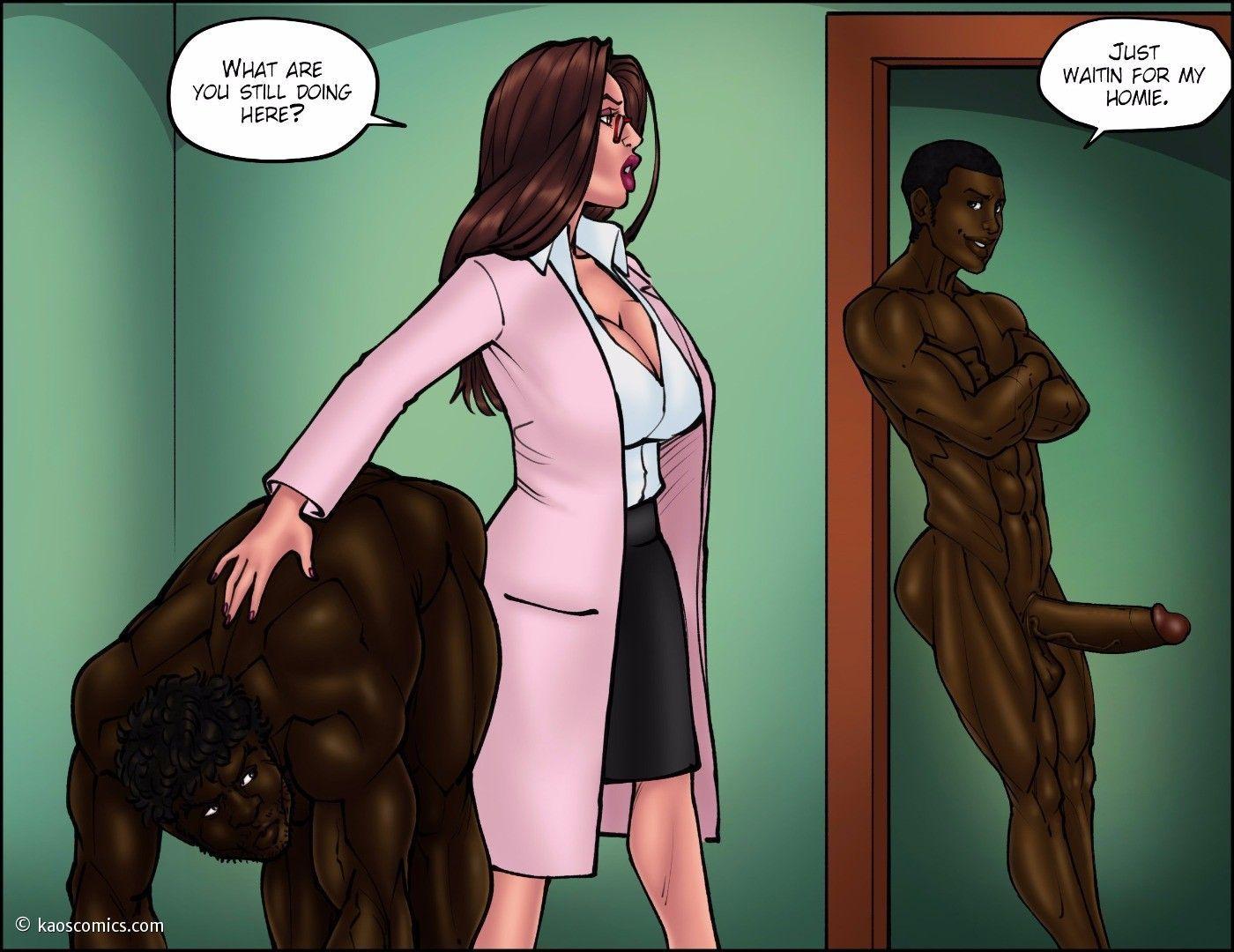 comics-bitch-black