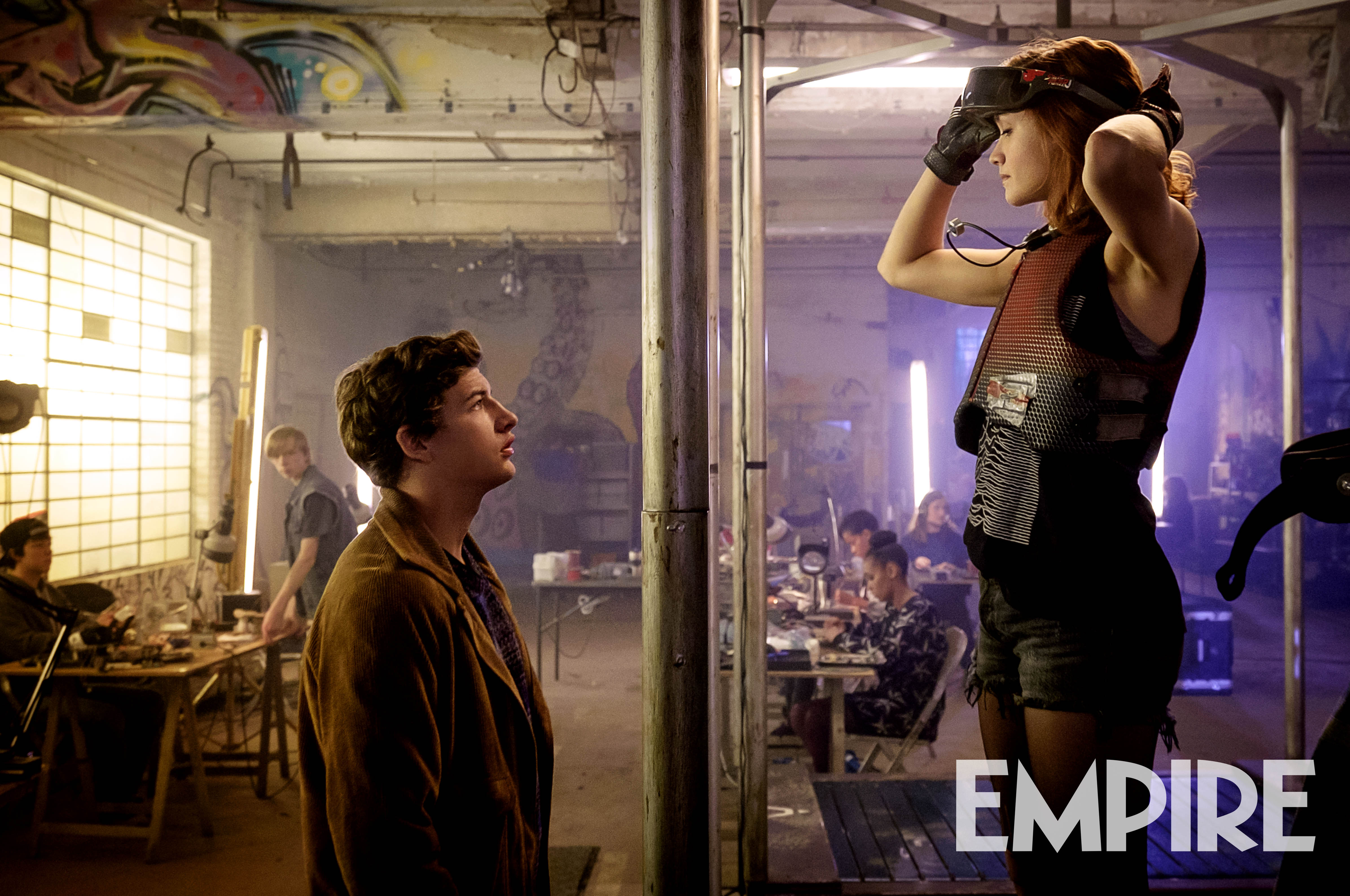 Ready Player One Movie Quotes: READY PLAYER ONE Movie Reveals First Official Still Of