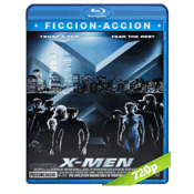 X-Men 1 (2000) BRRip 720p Audio Trial Latino-Ingles-Castellano 5.1