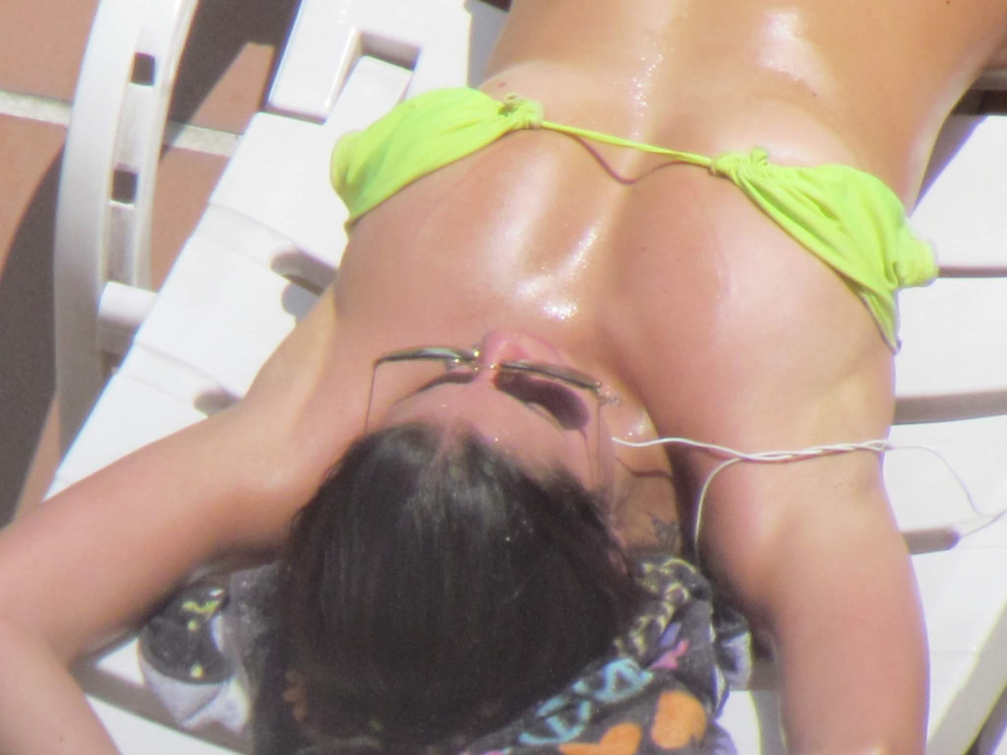 Vecinita argenta tomando sol - Fotos con teleobjetivo