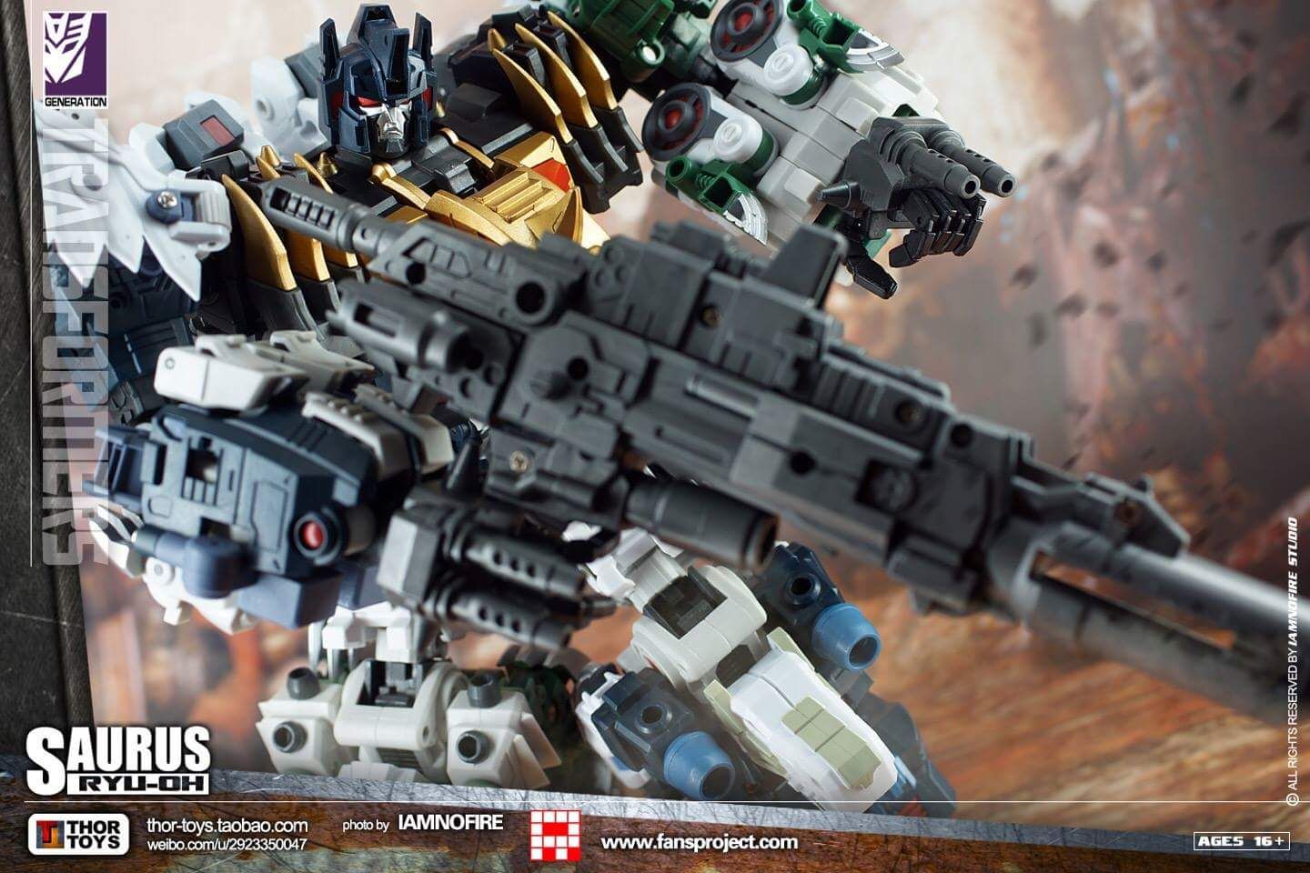 [FansProject] Produit Tiers - Jouet Saurus Ryu-oh aka Dinoking (Victory) | Monstructor (USA) - Page 2 8LhVkHuW
