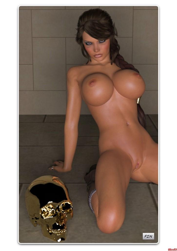 Lara Croft XXX – El cráneo dorado