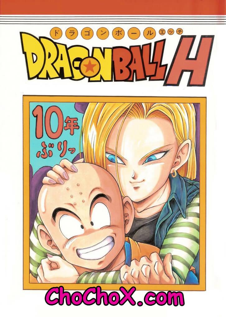 Dragon Ball H Krillin X 18