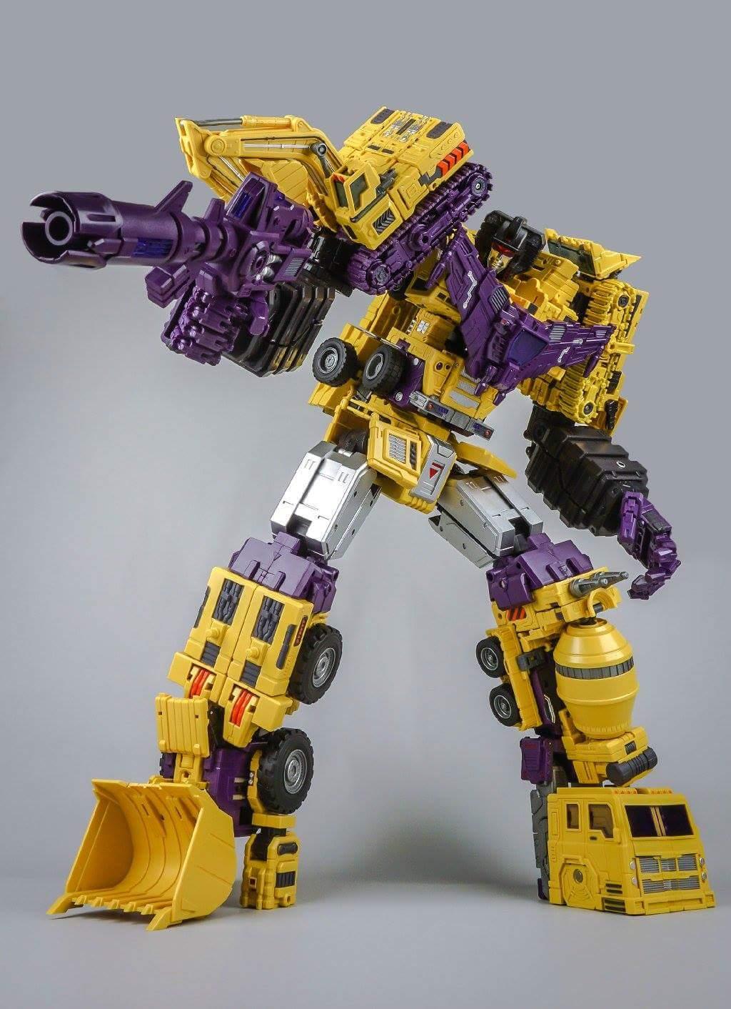 [Toyworld] Produit Tiers - Jouet TW-C Constructor aka Devastator/Dévastateur (Version vert G1 et jaune G2) - Page 8 KjLaWMV5