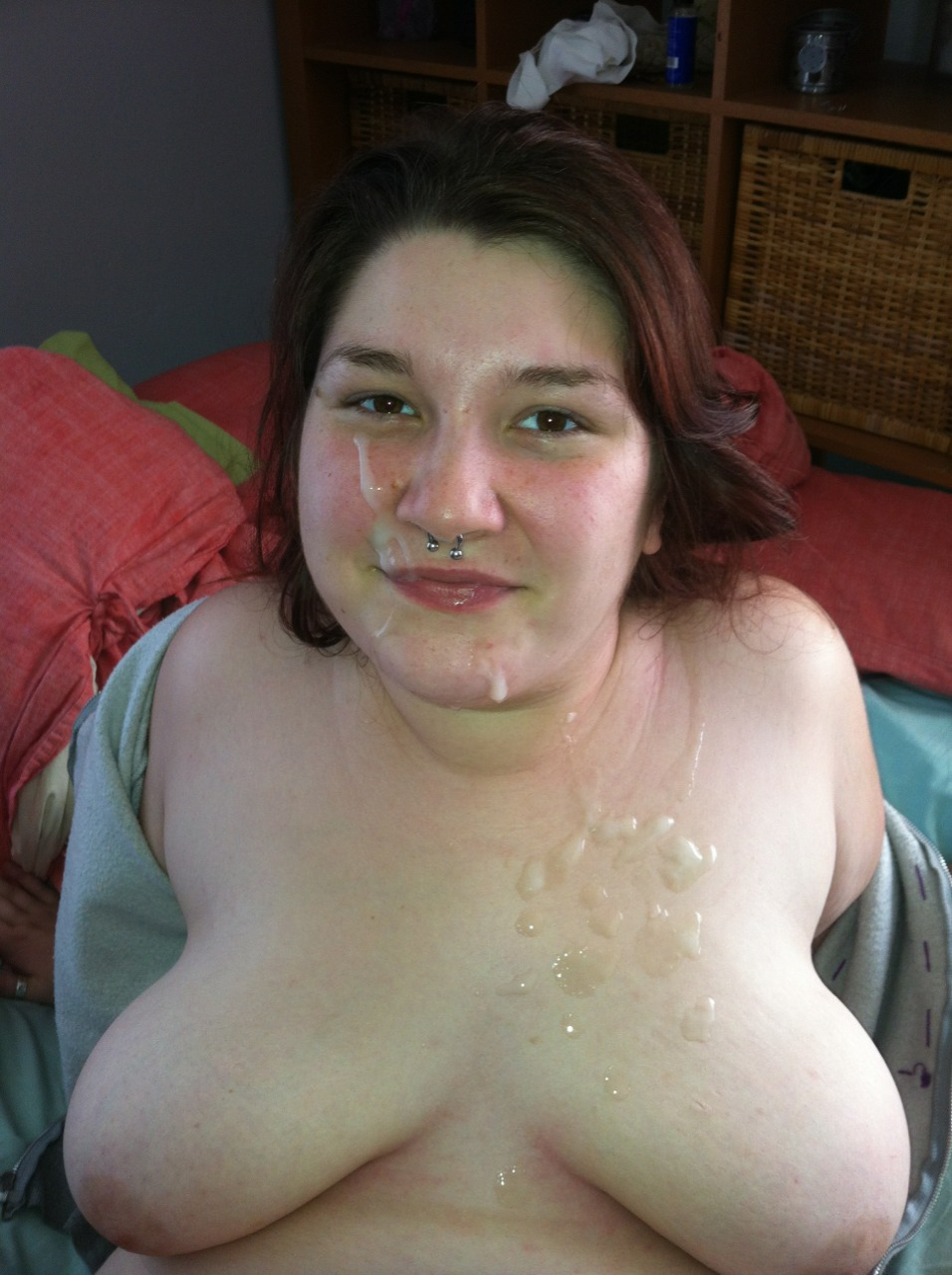 Fat cum face