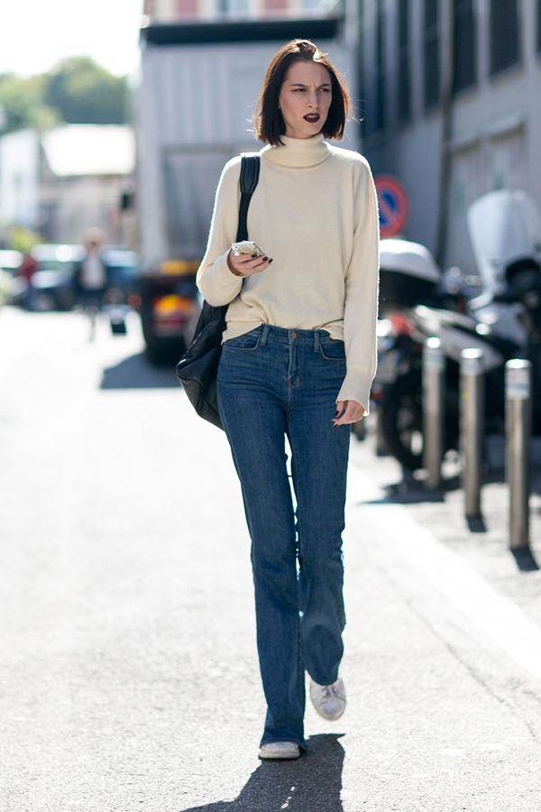 how to wear flared jeans, pic 5