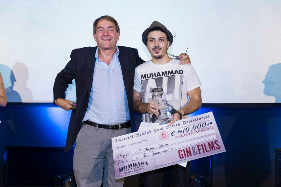 Ganador premio Cortos Gin Mombasa 2014