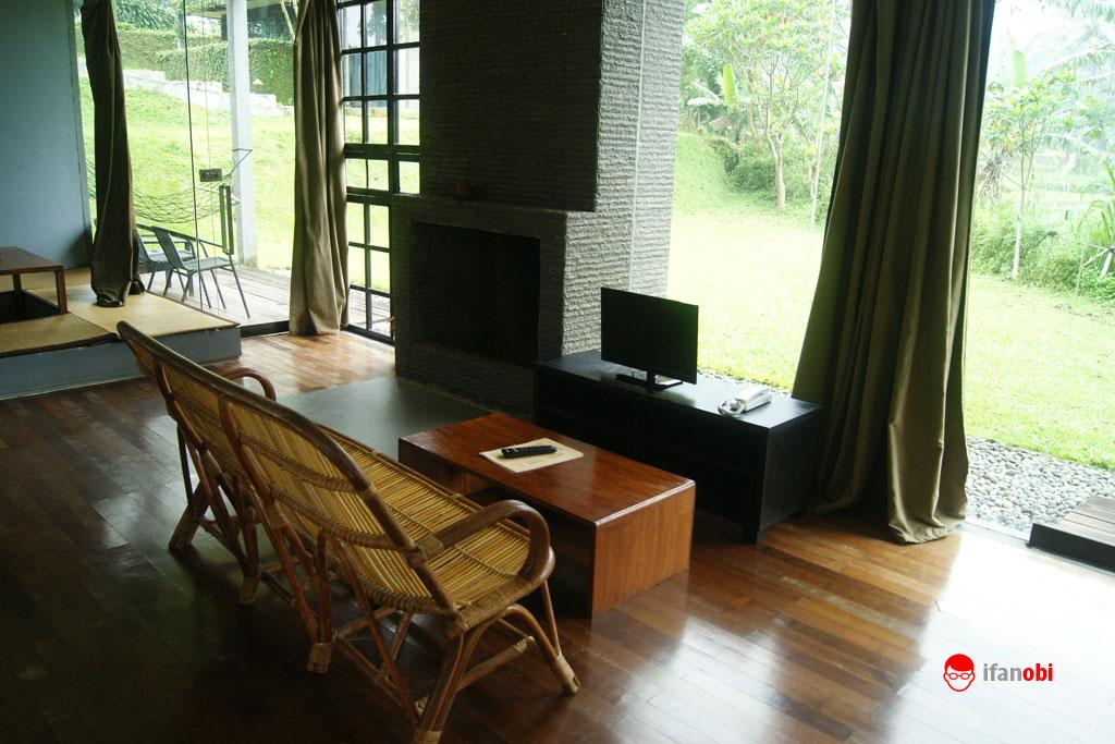 ruang utama Tea Garden resort