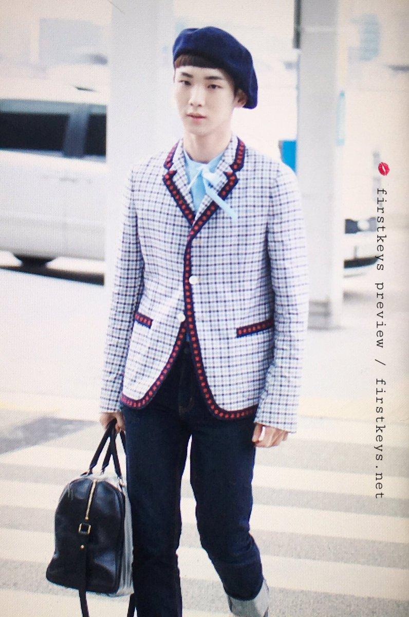 [IMG/160715] Jonghyun, Key @ Aeropuerto Incheon hacia Japón. I9sOv6s3