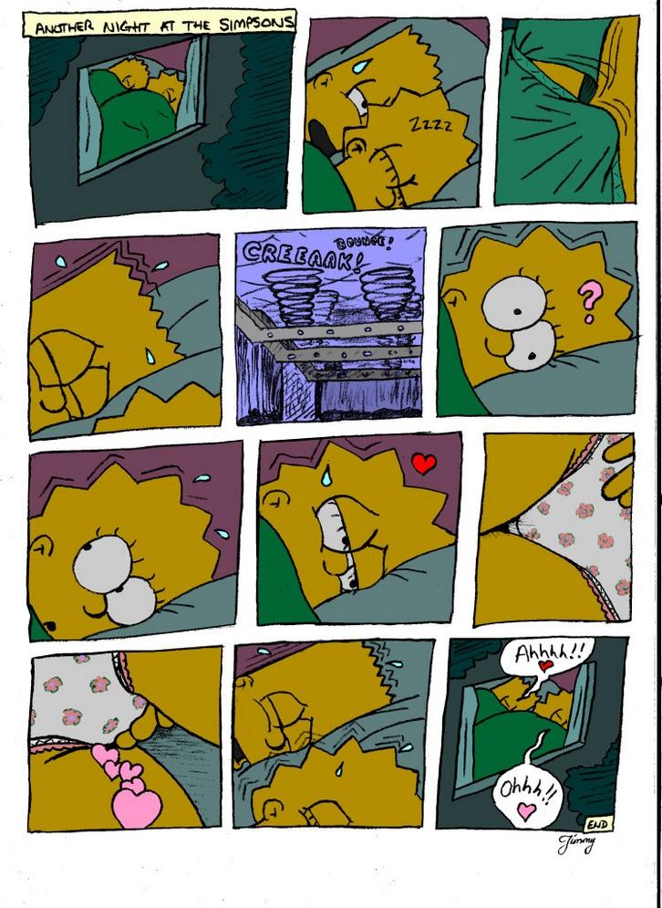 Bart y Lisa tienen fotos de sexo