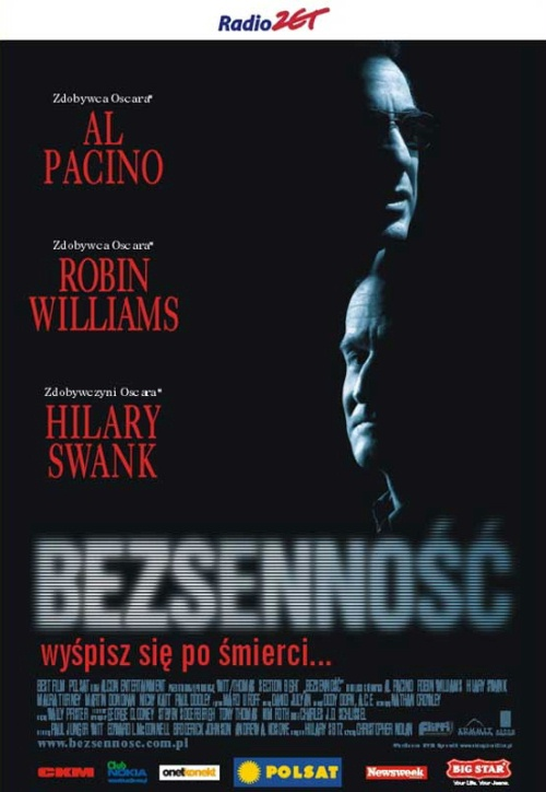 Bezsenno¶æ / Insomnia (2002) PL.DVDRip.XviD.AC3-PiratesZone / Lektor PL + x264 + rmvb