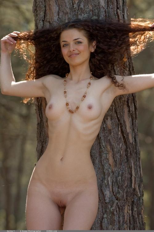 фото кучерявых девушек голых