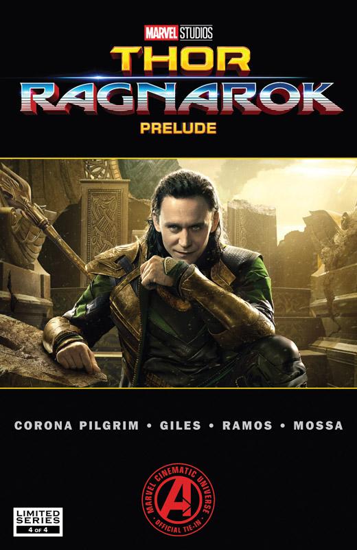 Marvel's Thor - Ragnarok Prelude #1-4 (2017) Complete