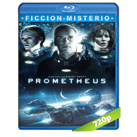 Prometeo (2012) BRRip 720p Audio Trial Latino-Castellano-Ingles 5.1