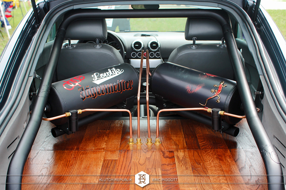 airbag setup in audi tt hardlines