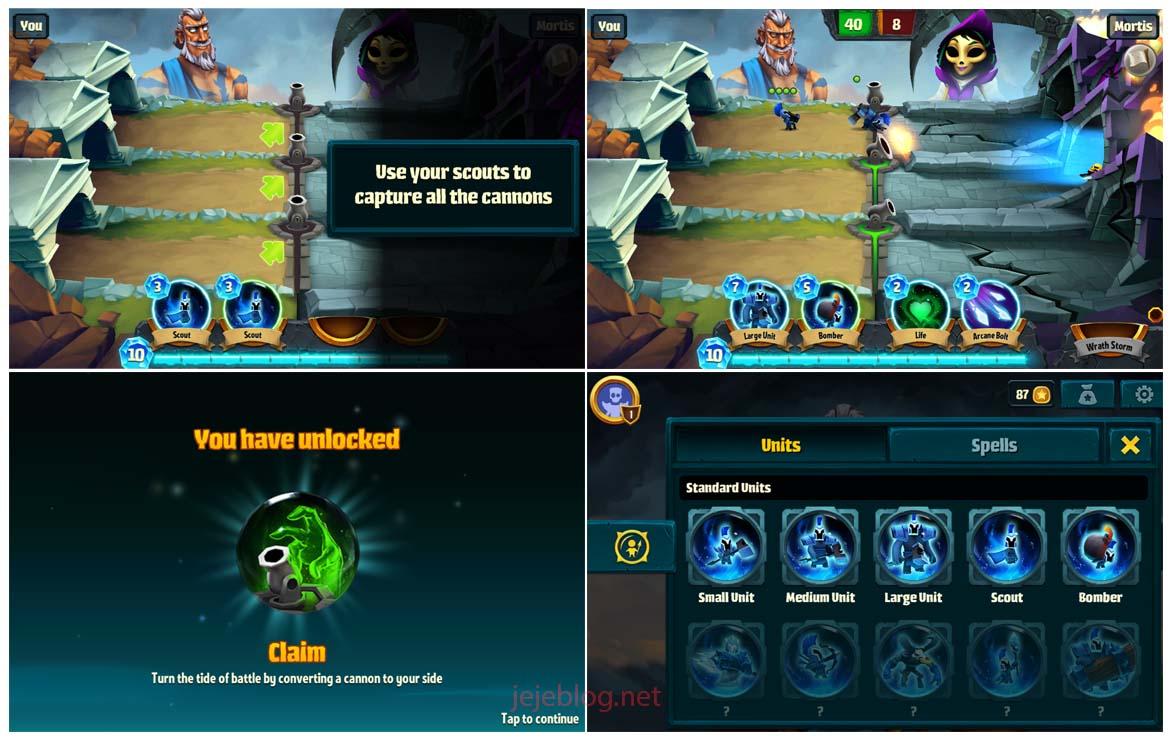 review game spellbinders
