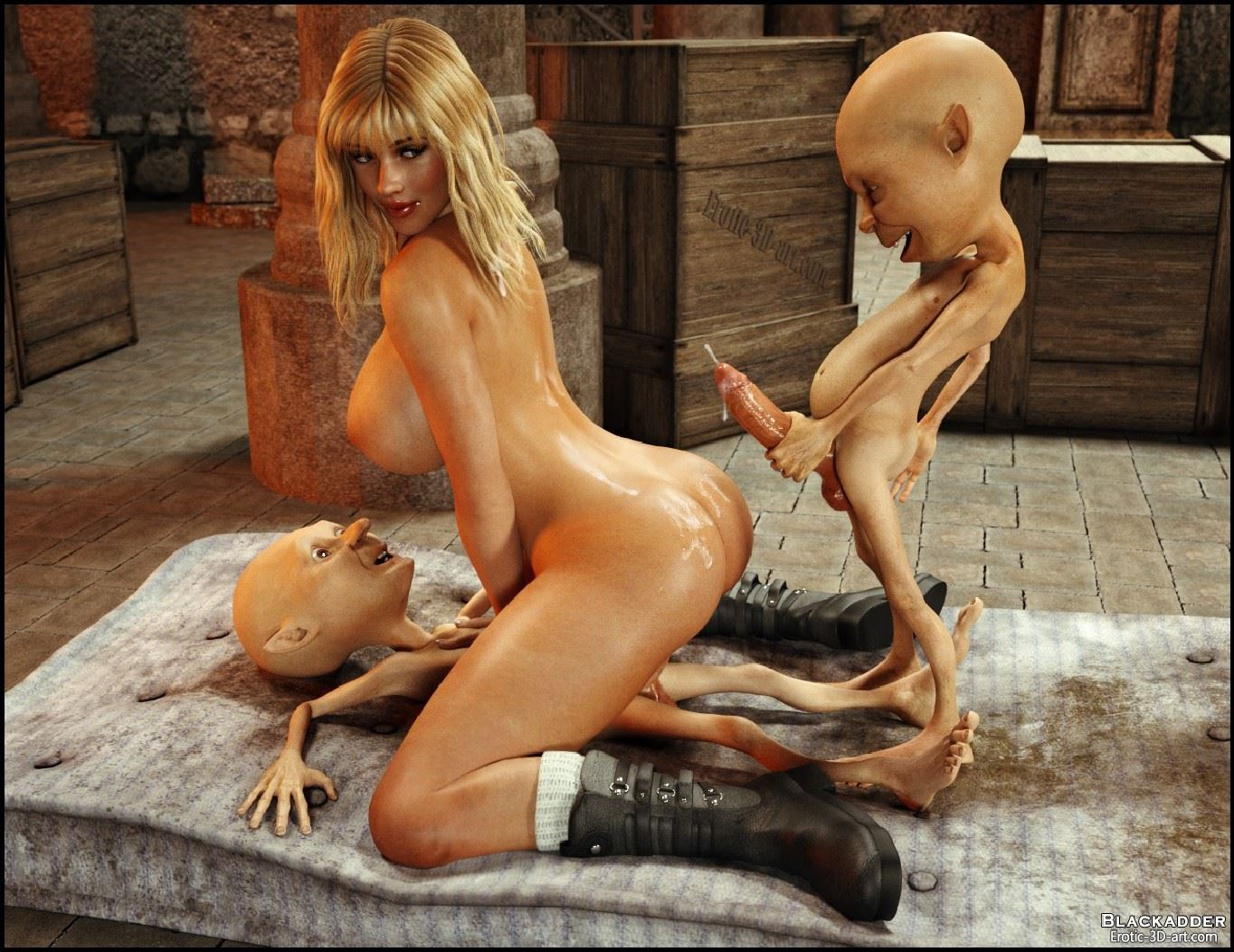 Blackadder 3d monster xxx sex streaming
