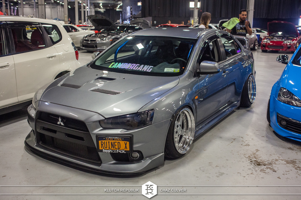 grey evo x 10 work equips wekfest east 2014