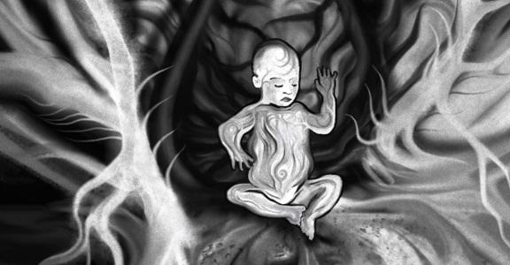 Obraz God of Our Genes