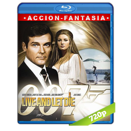 007 Vive Y Deja Morir (1973) BRRip 720p Audio Trial Latino-Castellano-Ingles 5.1
