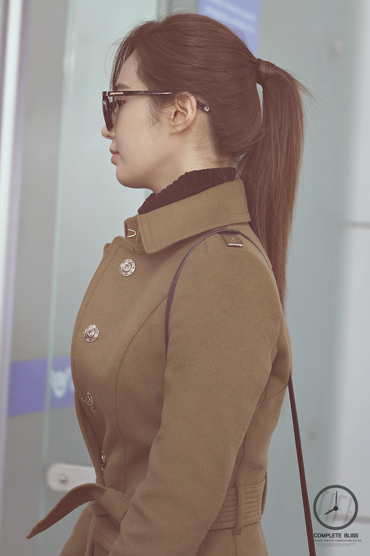 [140103] Tiffany y Yuri — Aeropuerto de Incheon AdbWnkfc