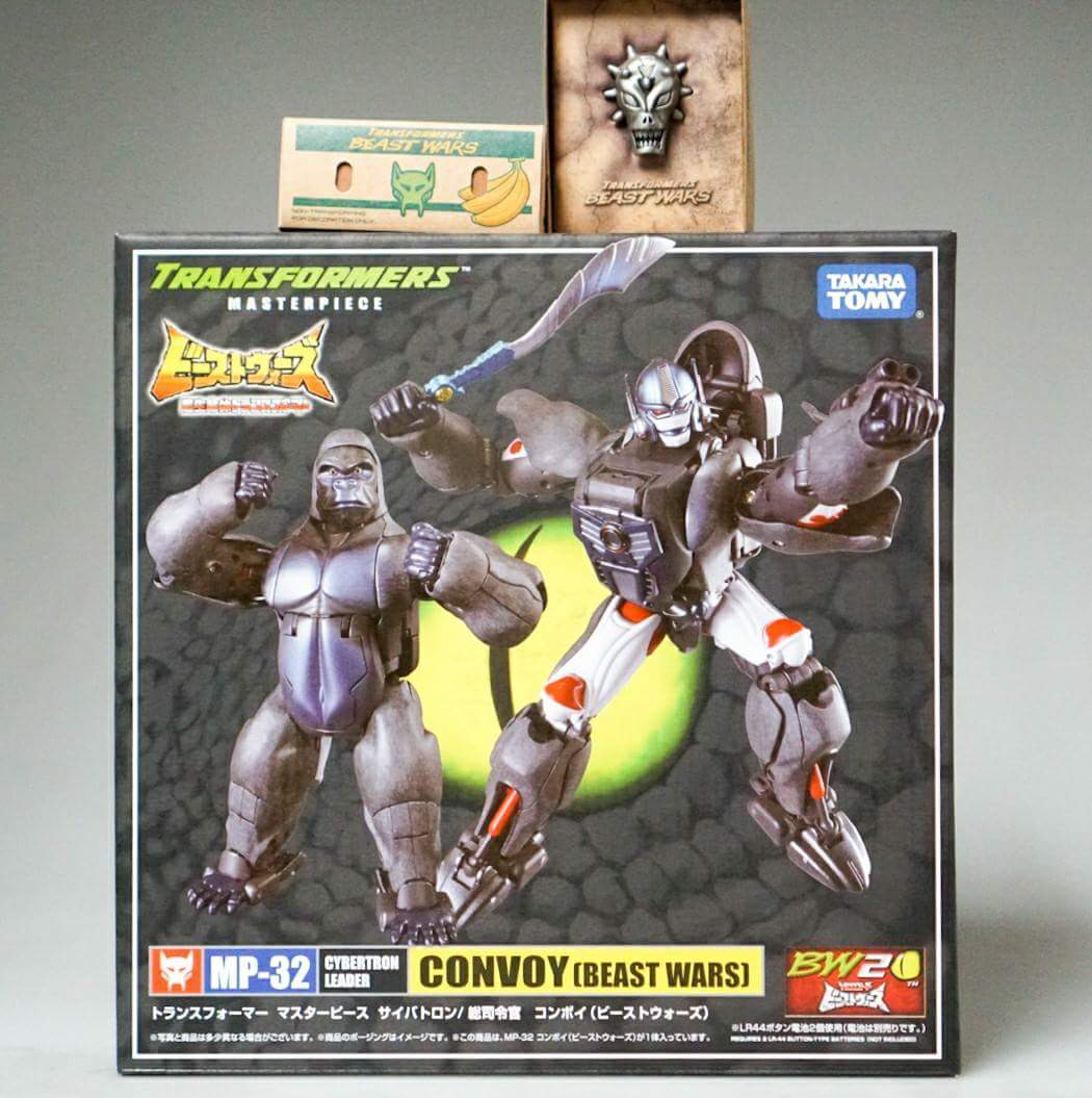 [Masterpiece] MP-32, MP-38 Optimus Primal et MP-38+ Burning Convoy (Beast Wars) - Page 3 H2Eyvsyc