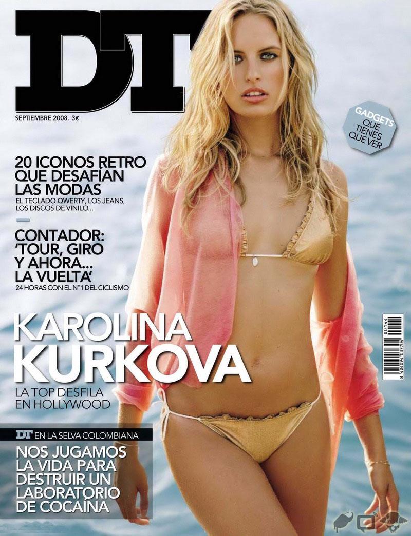 Каролина Куркова (Karolina Kurkova) голая, фото в журнале DT, сентябрь 2008