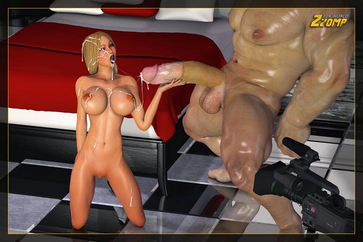La rubia y el gigante (Zzomp 3D)