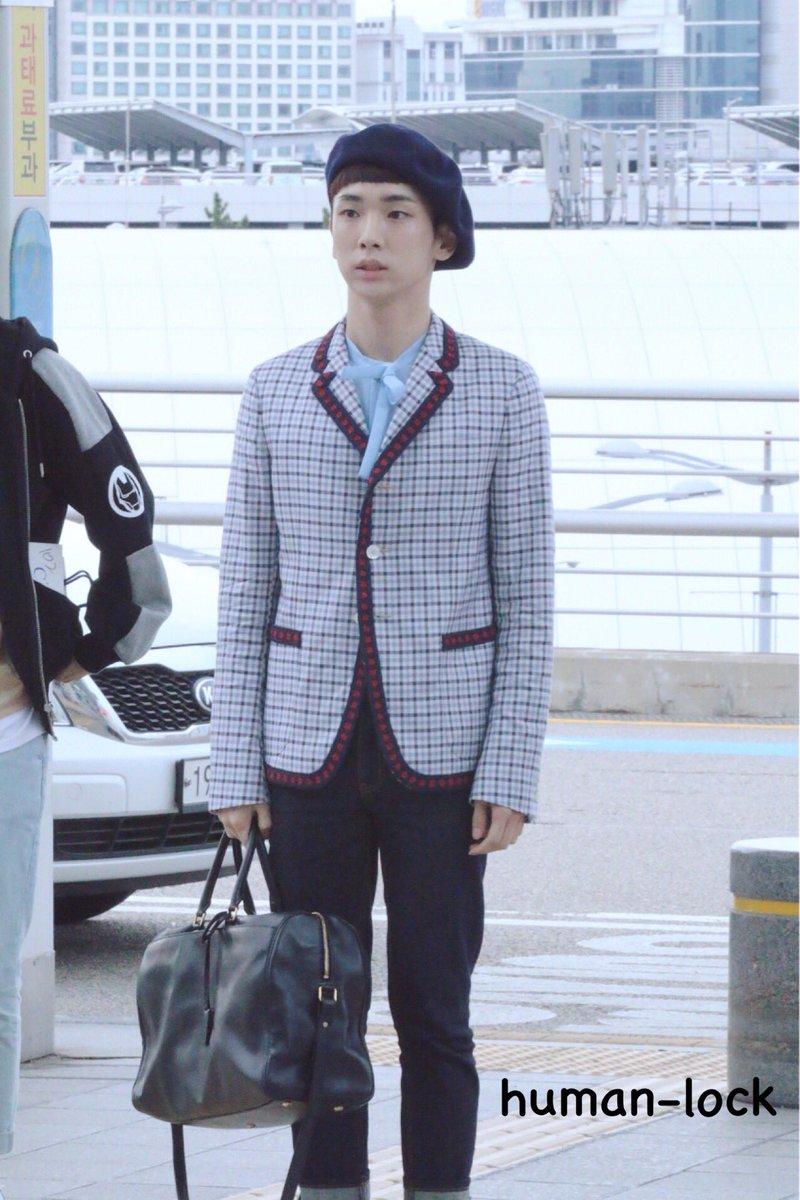 [IMG/160715] Jonghyun, Key @ Aeropuerto Incheon hacia Japón. I1wrKREJ