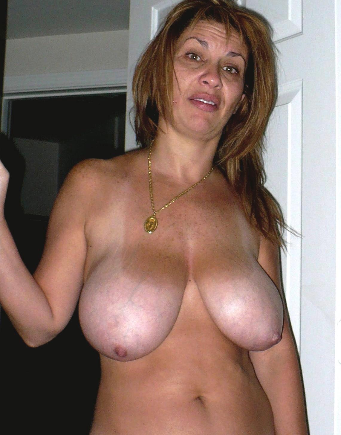 Mature women big curvy redhead boobs Kat