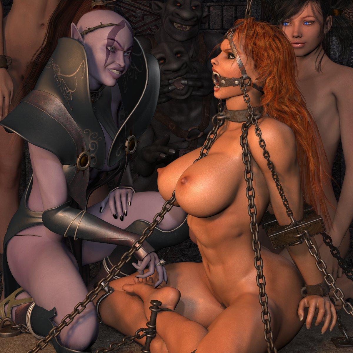 Naked demon amime sex slaves