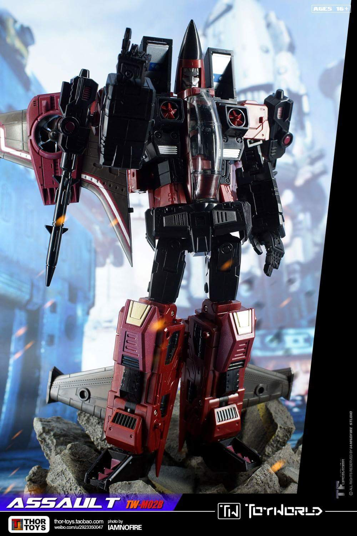 [ToyWorld] Produit Tiers - TW-M02A Combustor (Ramjet/Statoréacto), TW-M02B Assault (Thrust/Fatalo), TW-M02C Requiem (Dirge/Funébro) - Page 3 P2itJXx7