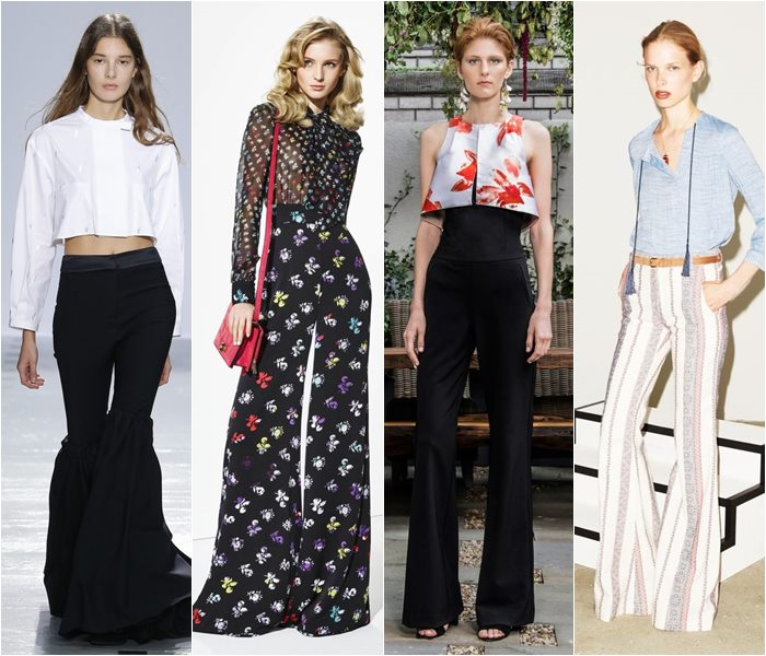 Flared pants spring/summer 2016
