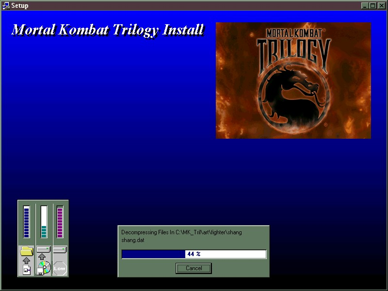 Juegos de los '90 andando en Windows 98 en el 2017