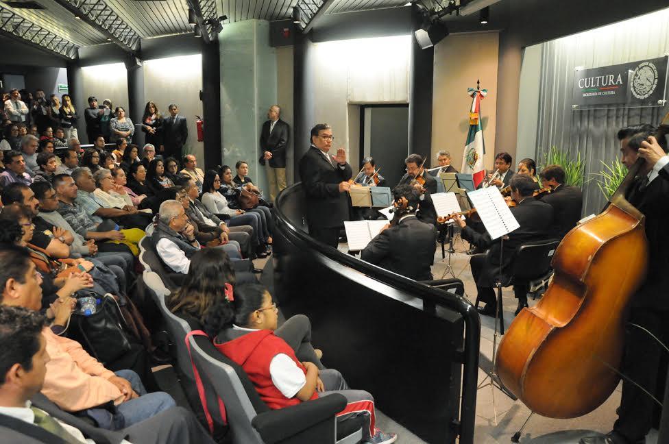El Sindicato Nacional de Cultura organizó concierto con la Camer