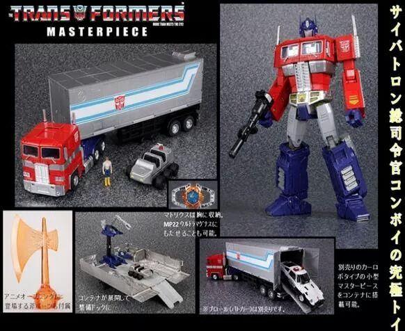 [Masterpiece] MP-10 Optimus Prime/Optimus Primus - TakaraTomy | Hasbro - Page 4 2cNksVhS