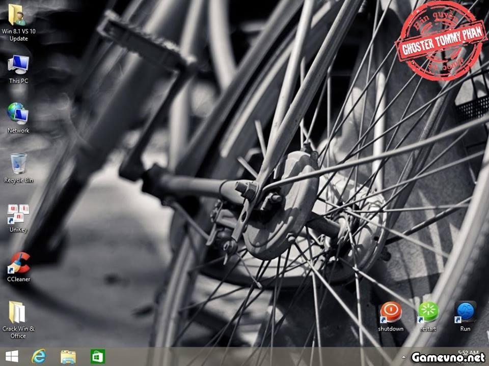 """Ghost Windows 8.1 32-bit VS10 NoSoft """"Ghost Lỗi Đừng Hỏi Vì Sao"""""""