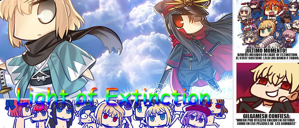 Fate/Light of Extinction
