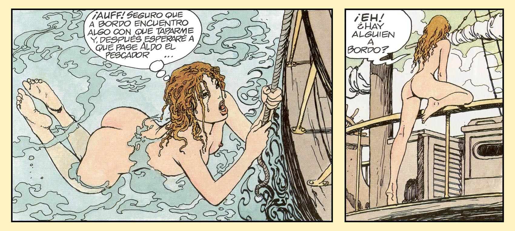 Milo Manara Gulliveriana