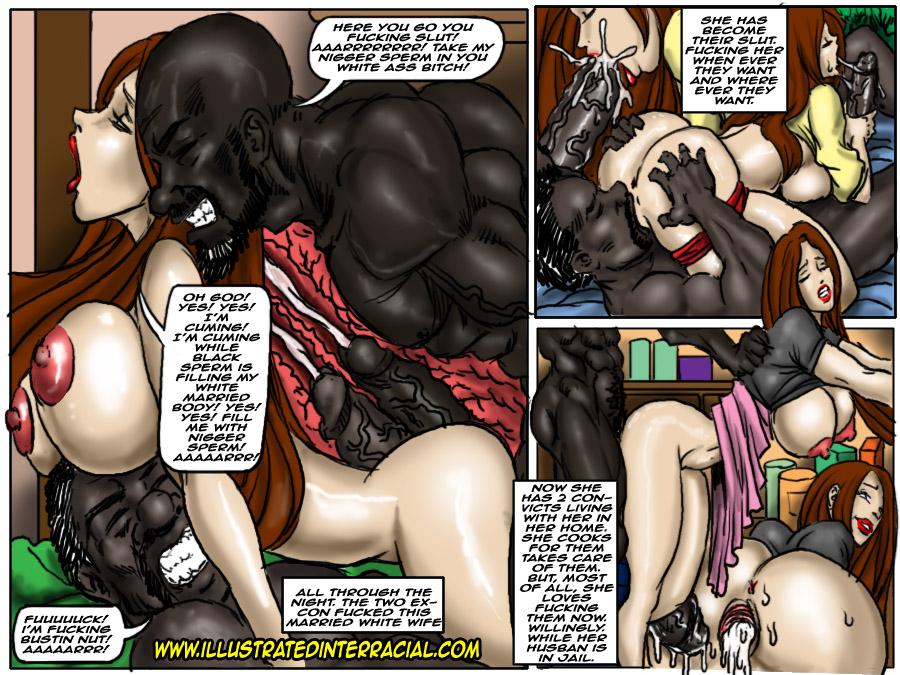 тюремные дамы порно комиксы