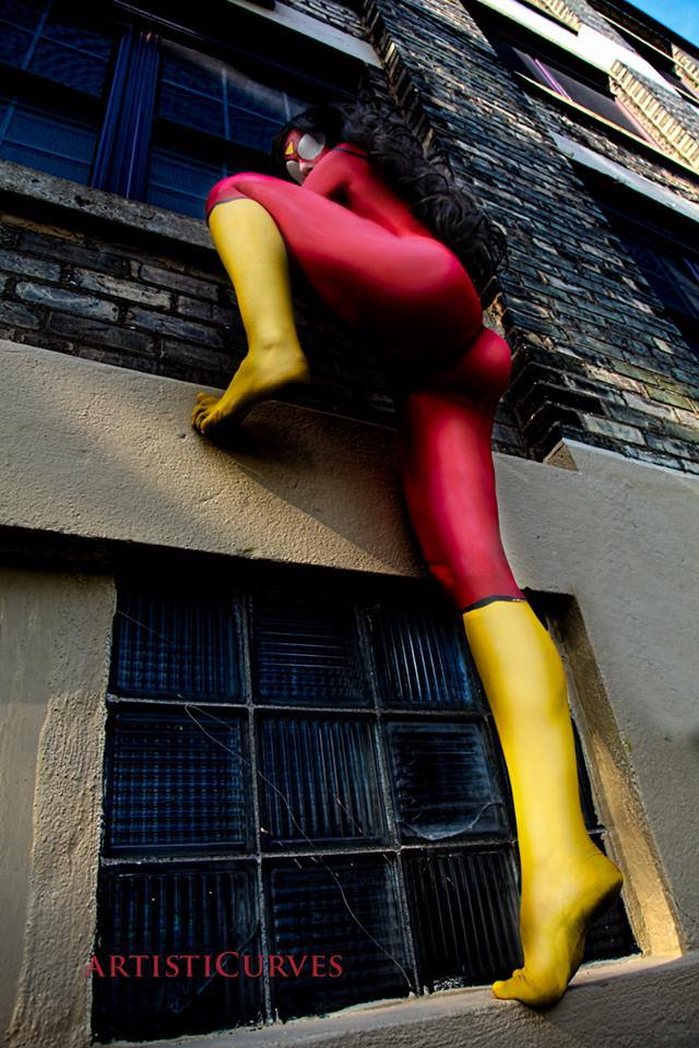 Cosplay Body Painting de Spider-Woman by Shele-Shii