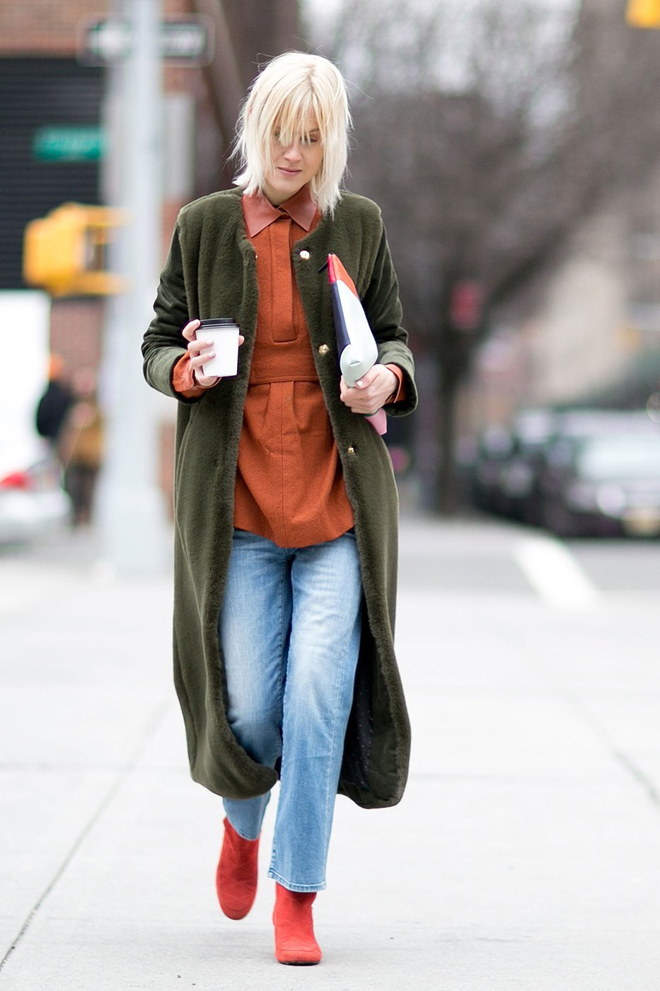 How to wear cropped jeans NYFW Fall/Winter 2016 pic 19