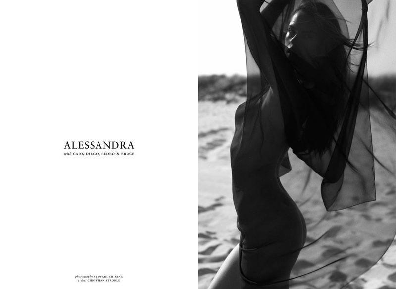 Alessandra Ambrosio in Made in Brazil magazine AdiHlsyM
