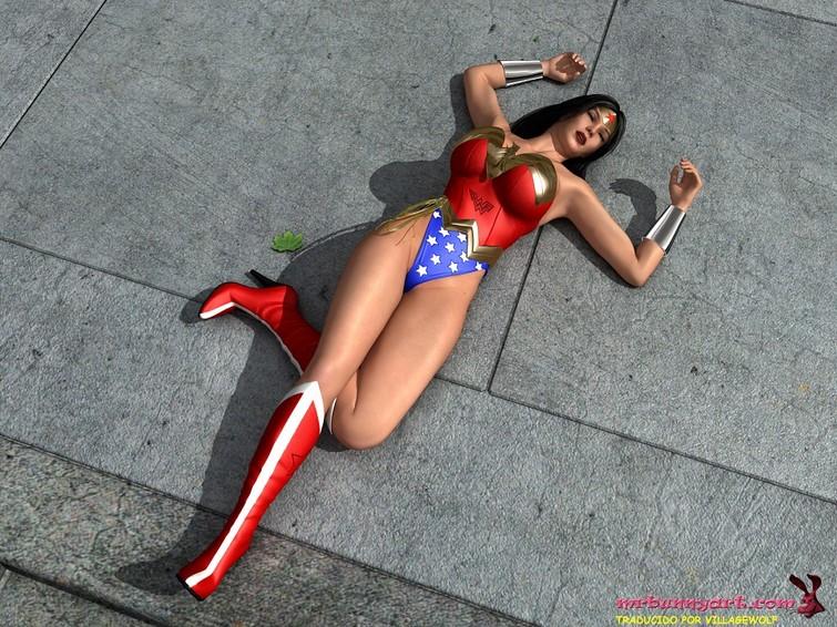 Wonder Woman vs Cain